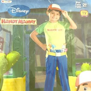 Handy Manny 2T costume